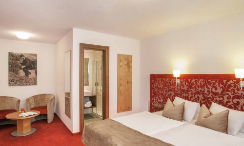 Photo vom Zimmer Double rooms - Hotel Sulai